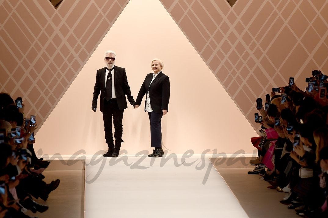 Karl Lagerfeld y Silvia Venturini - Milan Fashion Week Otoño-Invierno 2018/2019