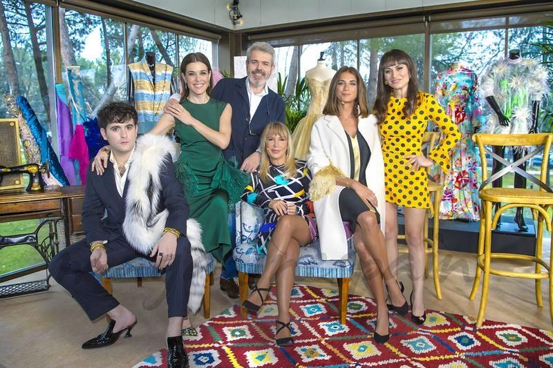 Raquel Sánchez Silva junto a Lorenzo Caprile, María Escoté y Eduardo Palomo © RTVE