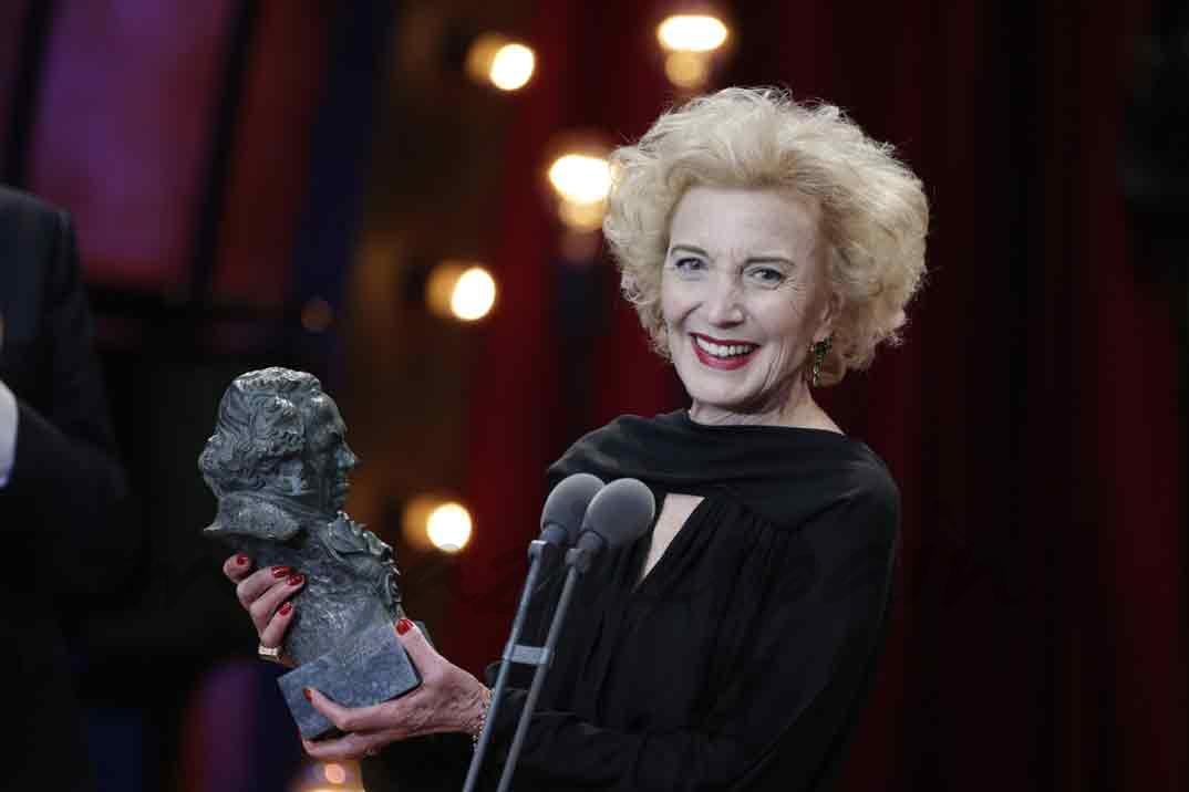 Marisa Paredes recibe el Goya de Honor