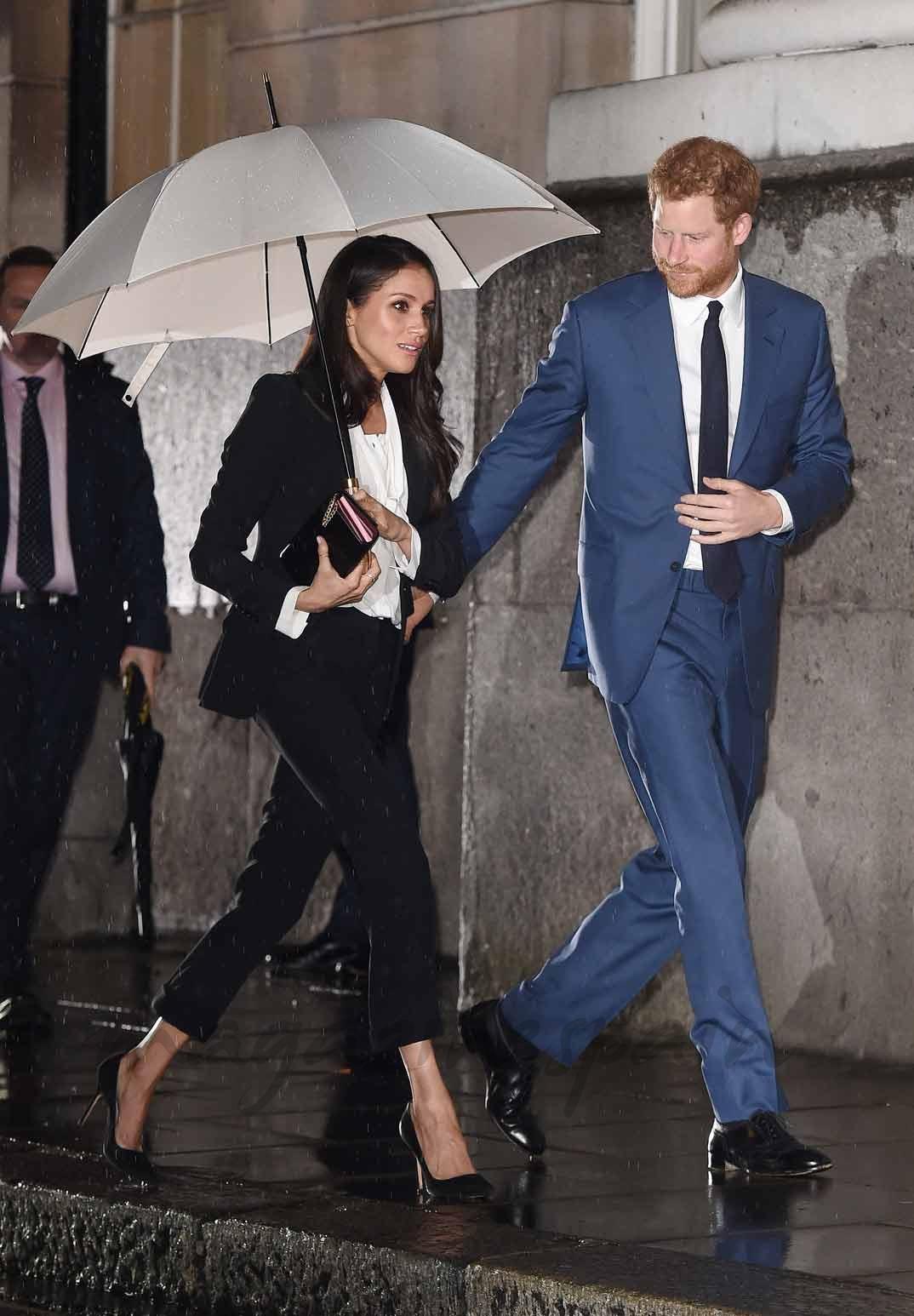 Meghan Markle y el príncipe Harry de Inglaterra