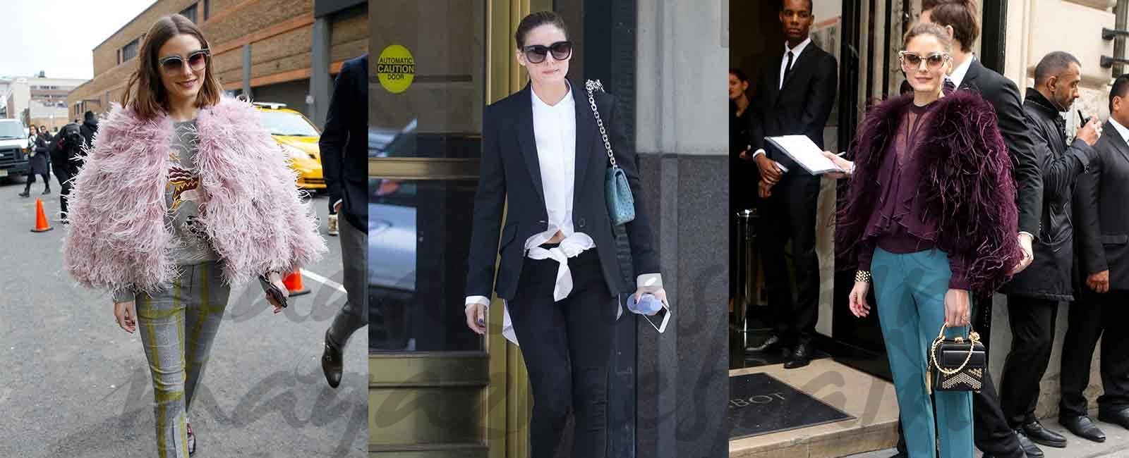 Olivia Palermo: ¡Varios looks solo con un par de zapatos!