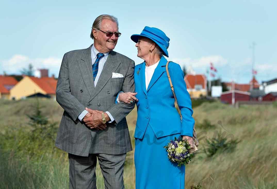 Príncipe Enrique y Reina Margarita de Dinamarca