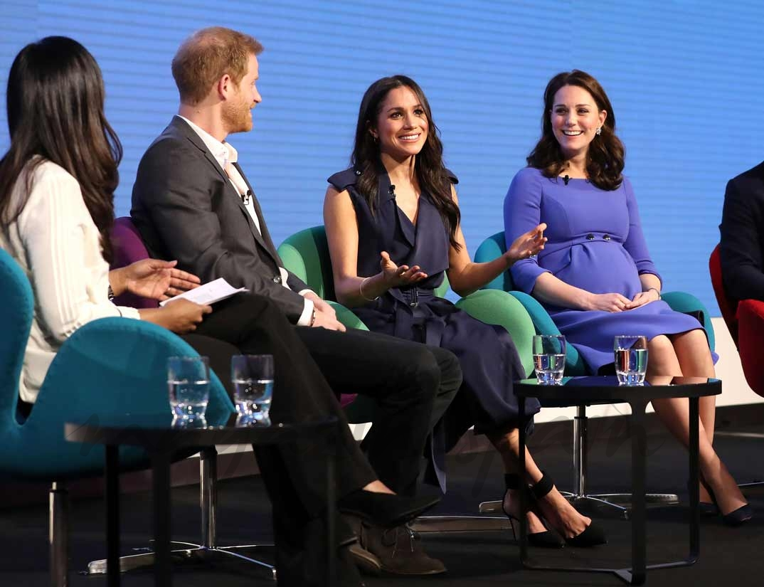 El príncipe Harry, Meghan Markle los Duques de Cambridge