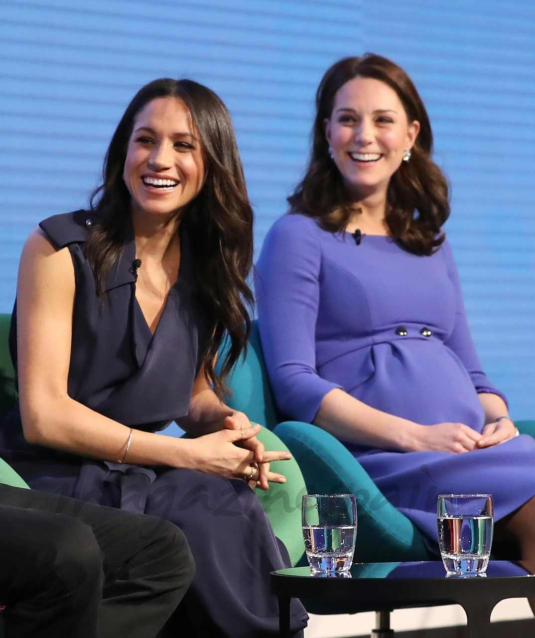 Meghan Markle y Kate Middleton
