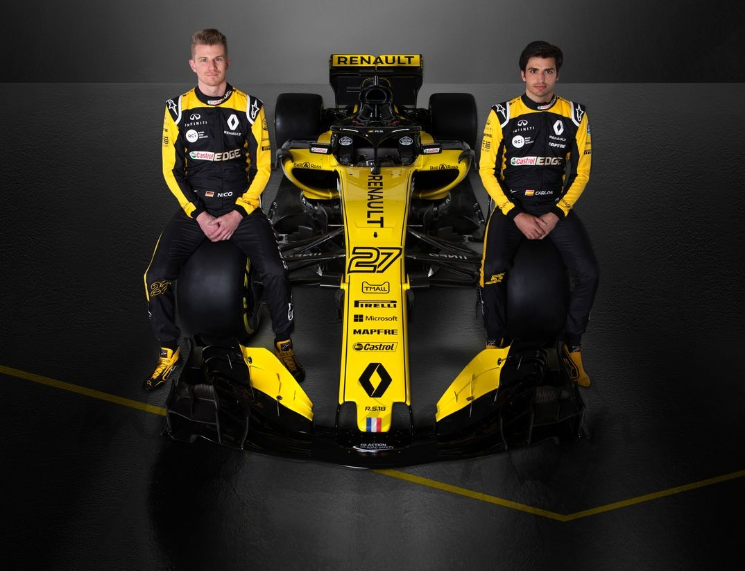 Nico Hulkenberg y Carlos Sainz Jr - Renault R.S.18