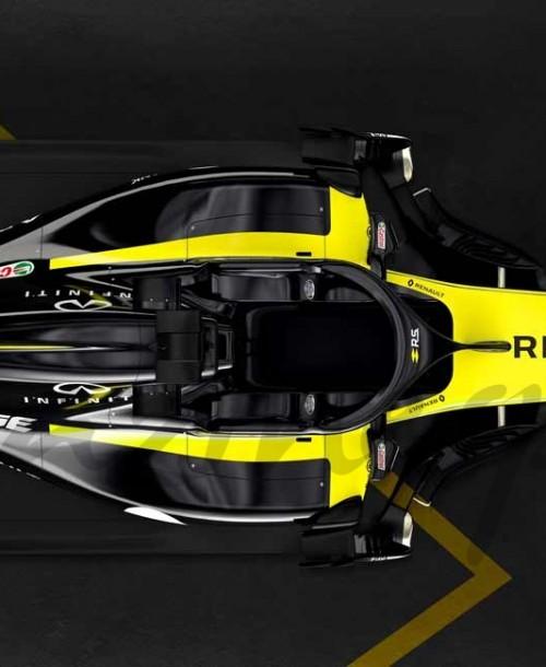 Renault Sport Formula One Team desvela su monoplaza 2018