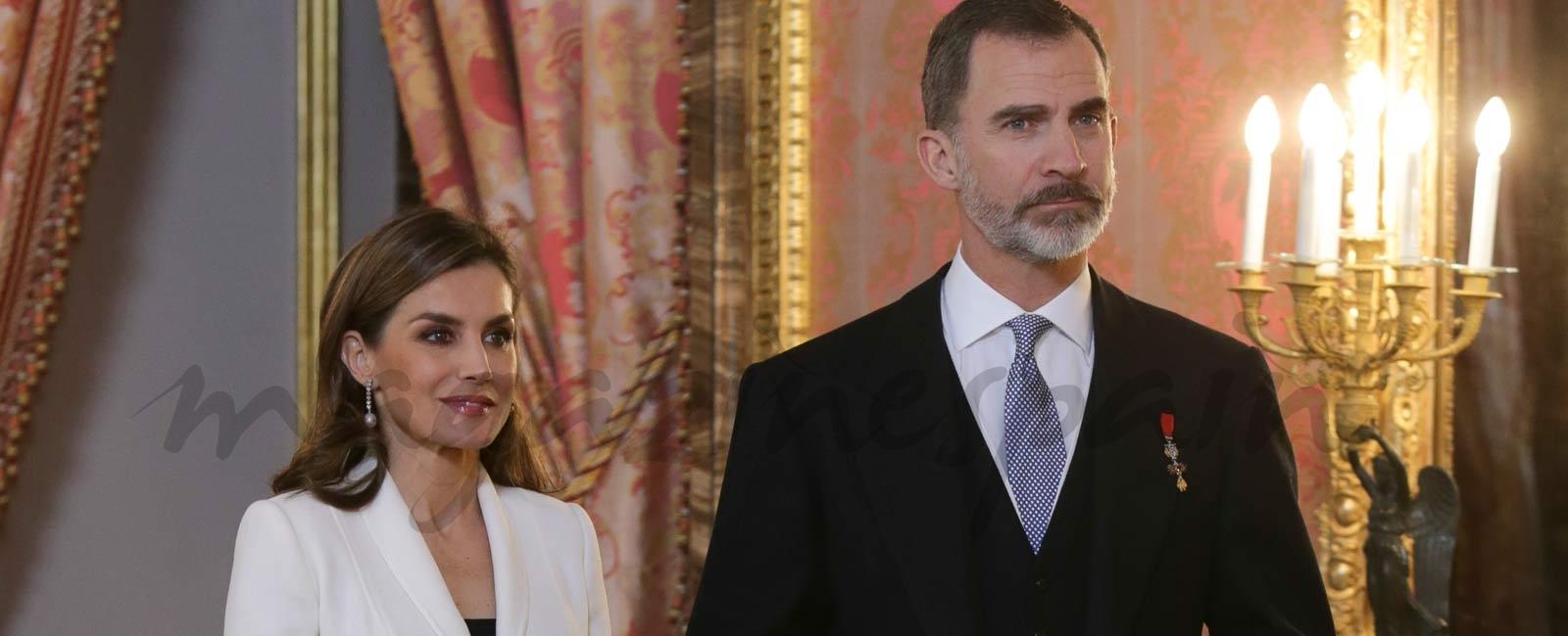 Los Reyes de España presiden la tradicional recepción al Cuerpo Diplomático