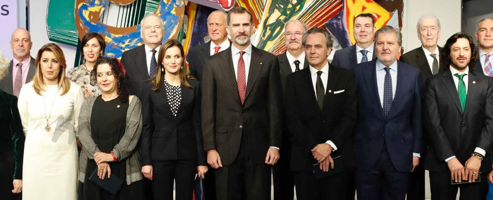 Los Reyes entregan las Medallas de Oro al Mérito en las Bellas Artes 2016