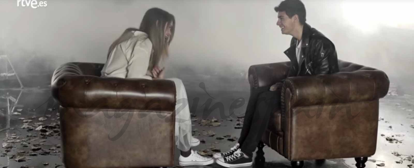 Primeras imágenes de Amaia y Alfred en el videoclip de «Tu canción» para Eurovisión