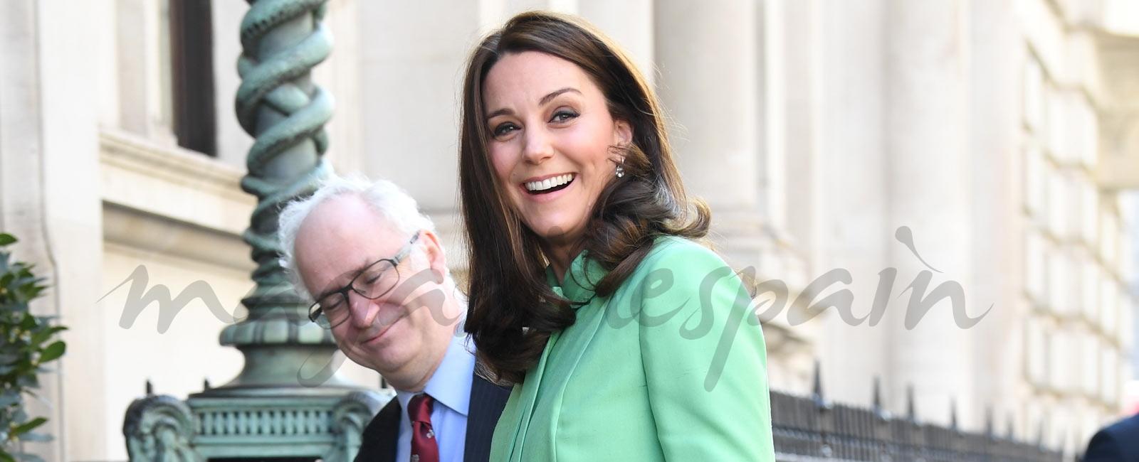 Kate Middleton y el príncipe William celebran el día de San Patricio