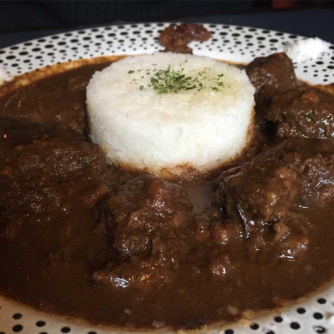 Curry de buey estilo Sudafricano