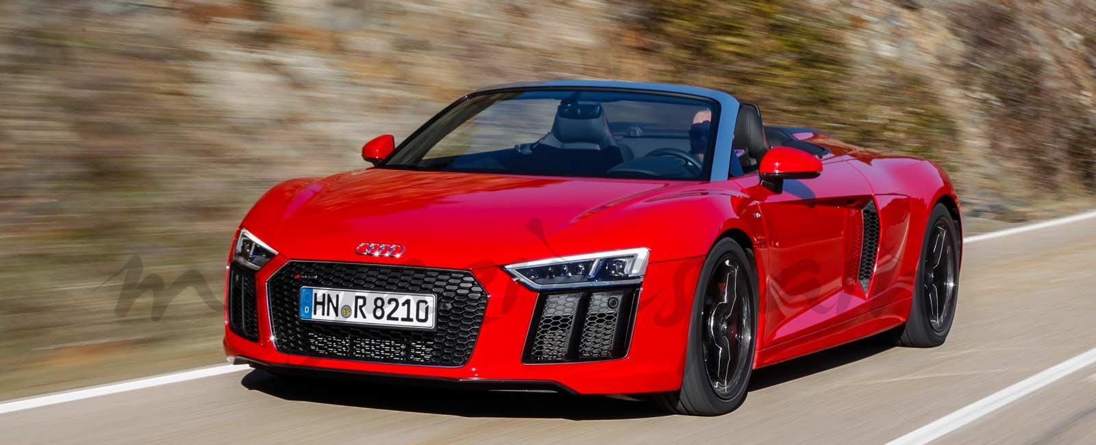El nuevo Audi R8 V10 RWS