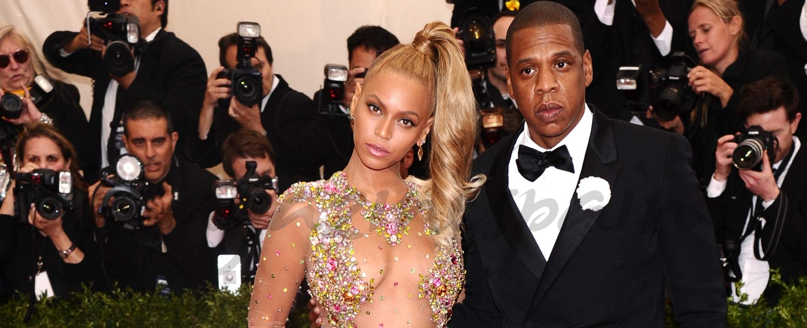 Las sorprendentes fotos de Beyoncé y Jay Z desnudos