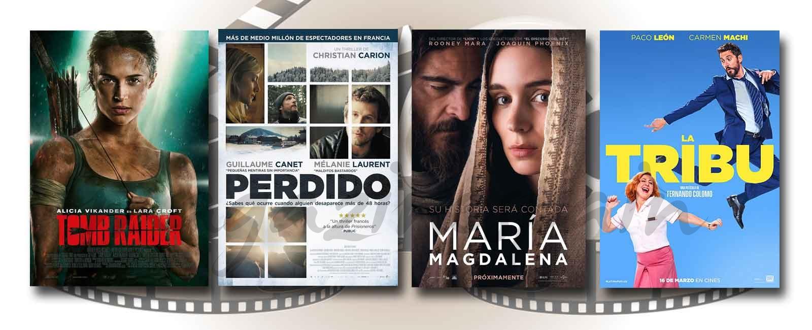 Estrenos de Cine de la Semana… 16 de Marzo 2018