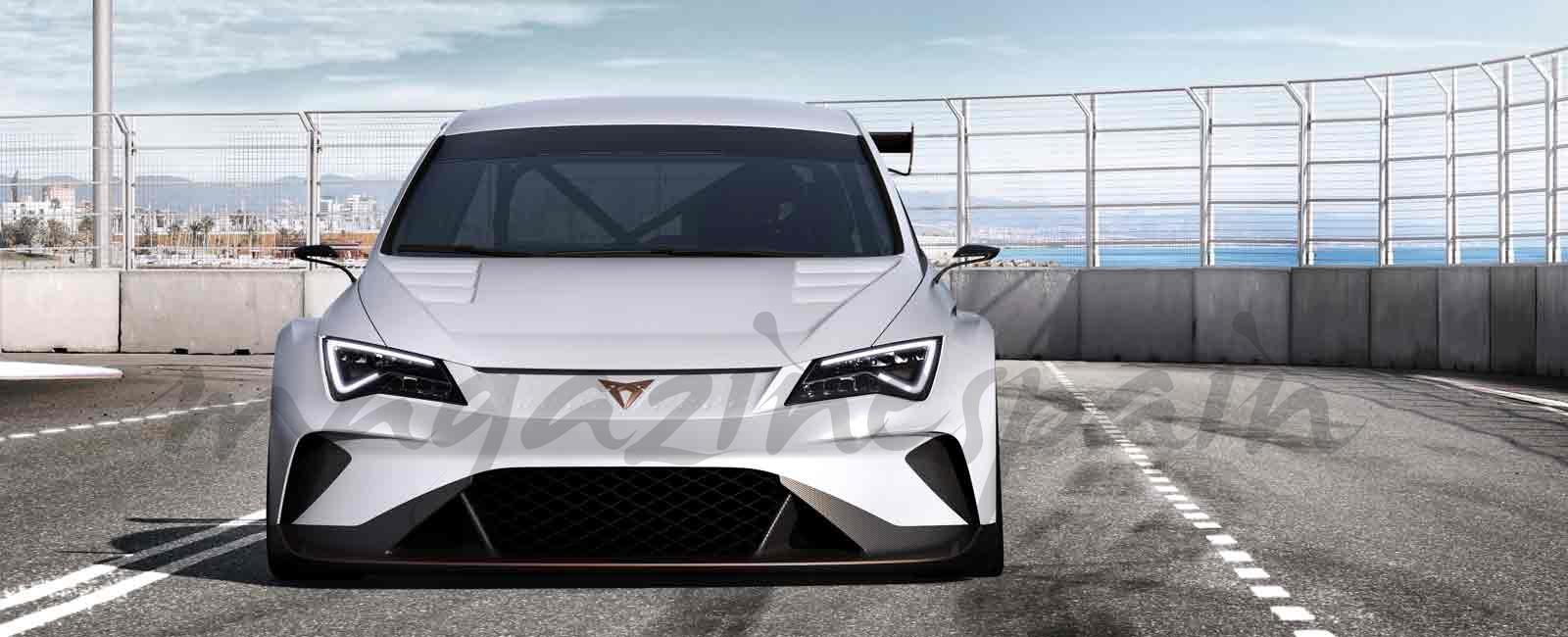 CUPRA e-Racer: el primer turismo de competición 100% eléctrico del mundo