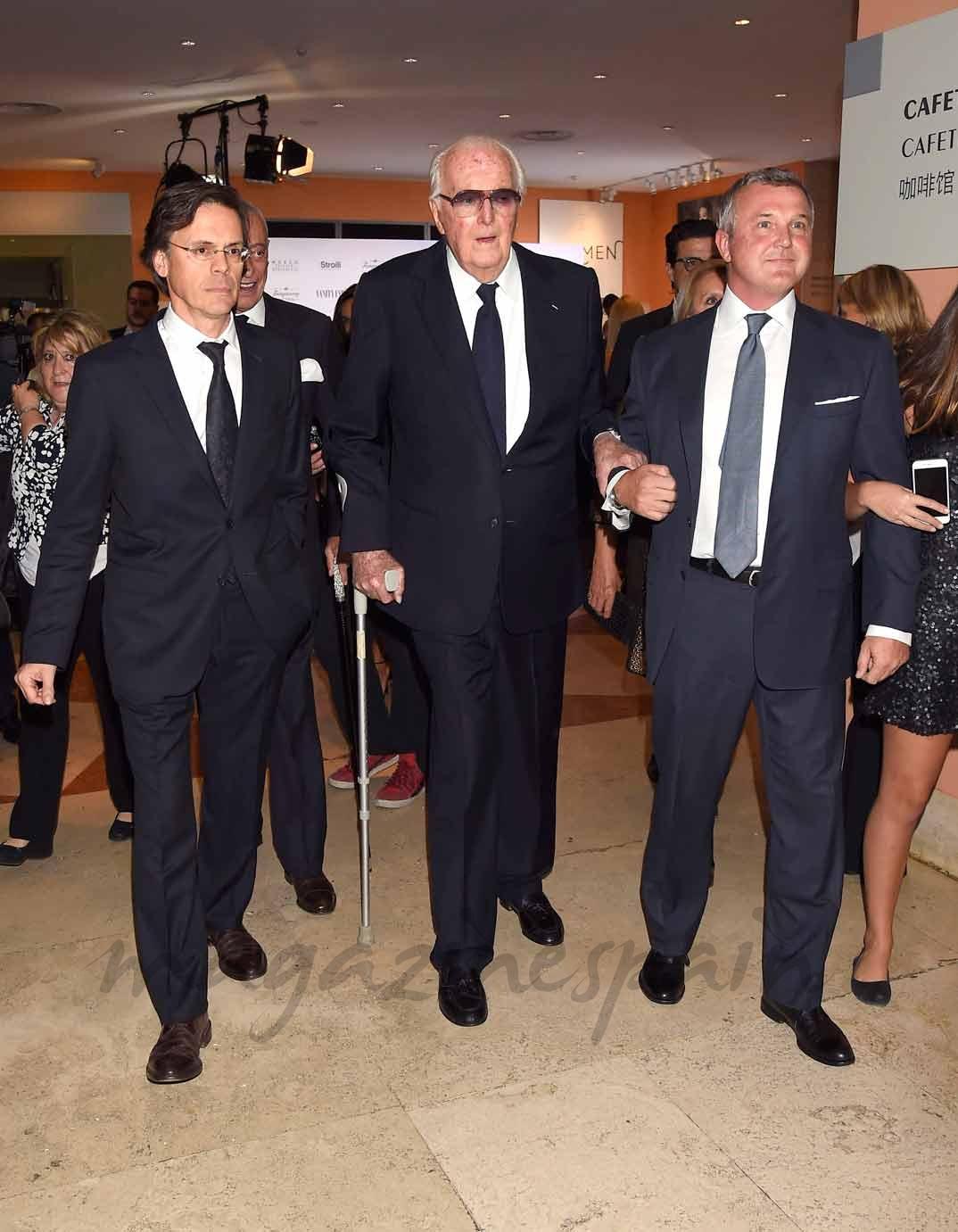 Hubert de Givenchy - Inaguración Hubert de Givenchy en Madrid - 2014