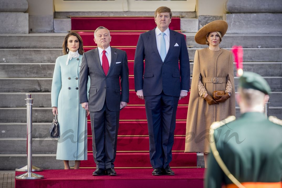 Reina Rania, Rey Abdullah, Rey Guillermo, Reina Máxima