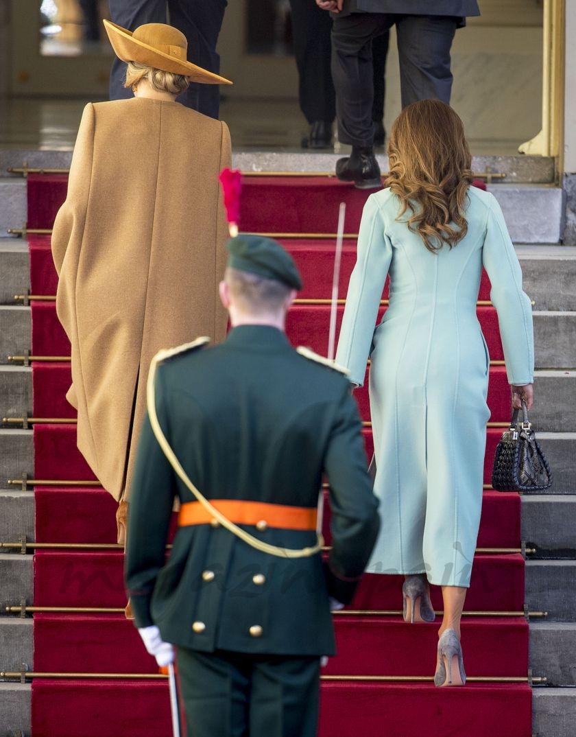 Reina Máxima de Holanda y Reina Rania de Jordania