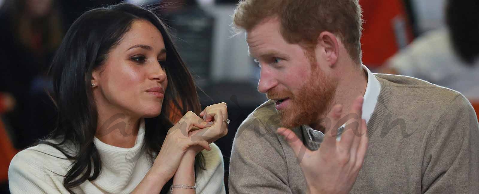 La imagen más cercana de Meghan Markle y el príncipe Harry