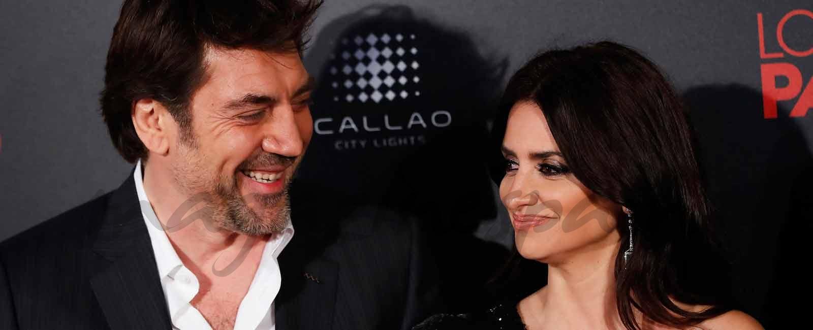 Penélope Cruz y Javier Bardem, una pareja de cine sobre la alfombra roja de «Loving Pablo»