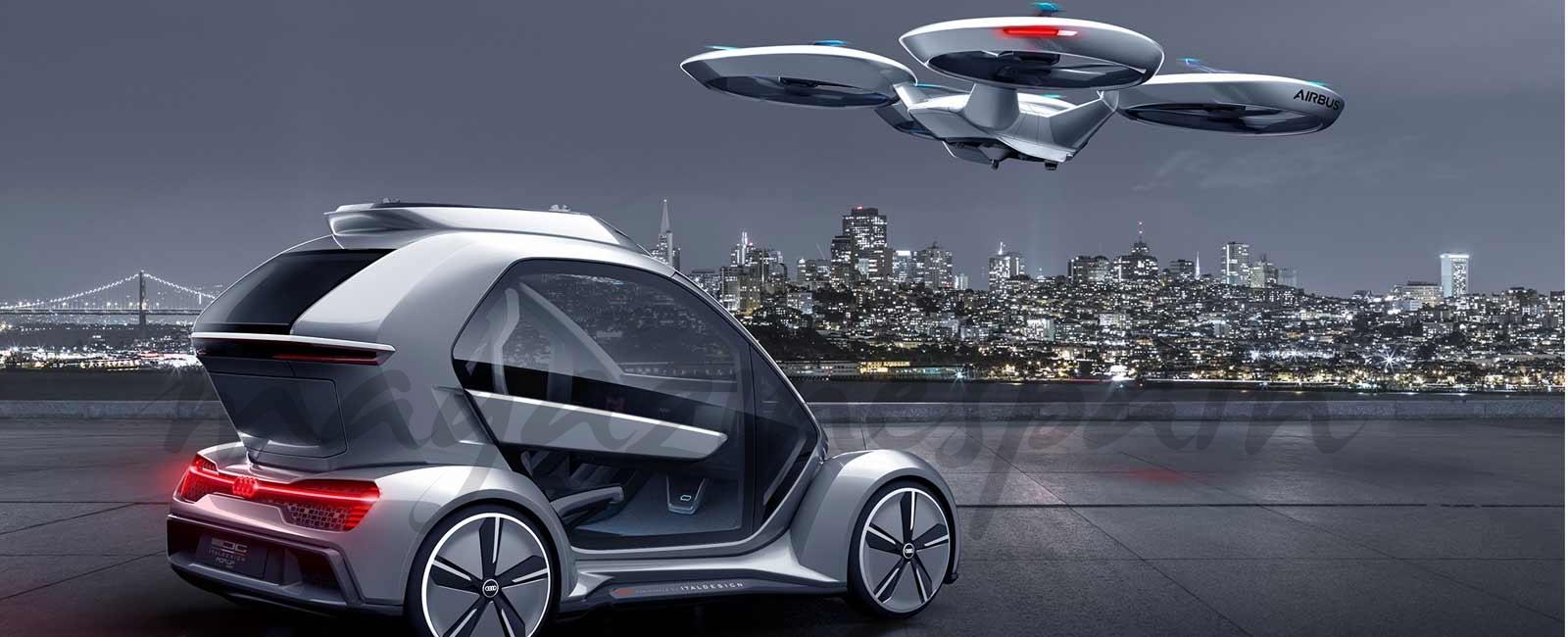 Salón del Automóvil de Ginebra… ¿Coches que vuelan?