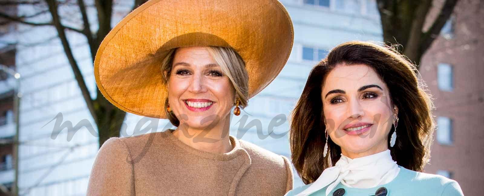 Rania de Jordania y Máxima de Holanda: el esperadísimo duelo de estilo