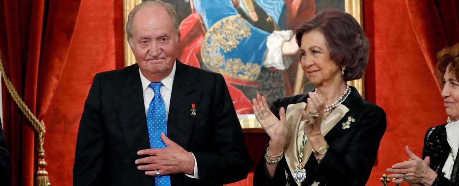 El rey don Juan Carlos, homenajeado por la Real Academia de la Historia
