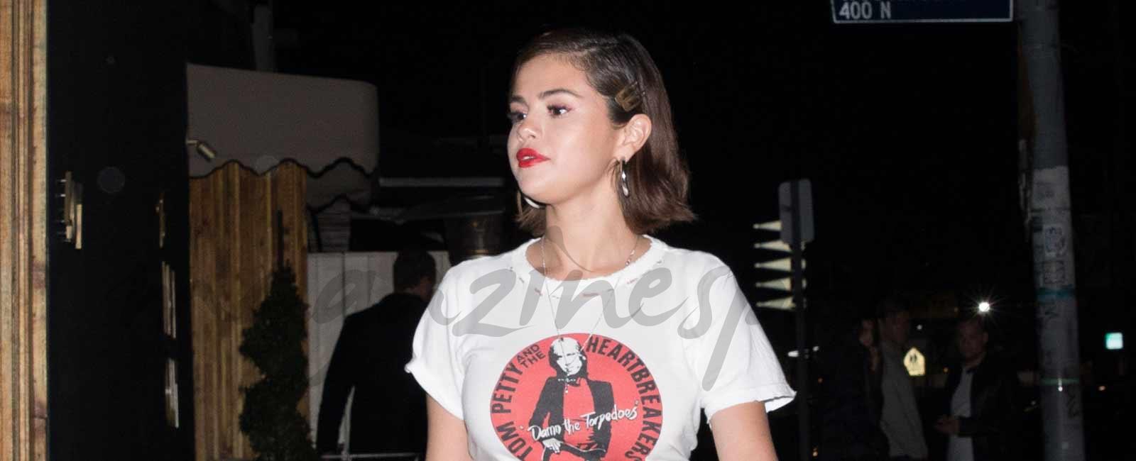 Selena Gómez, ¿Mensaje en una camiseta?