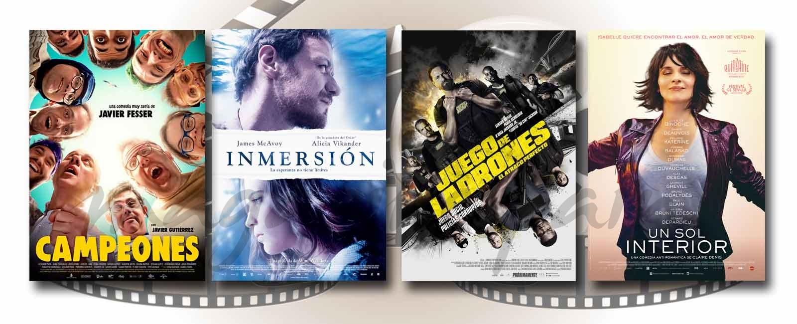 Estrenos de Cine de la Semana… 6 de Abril 2018
