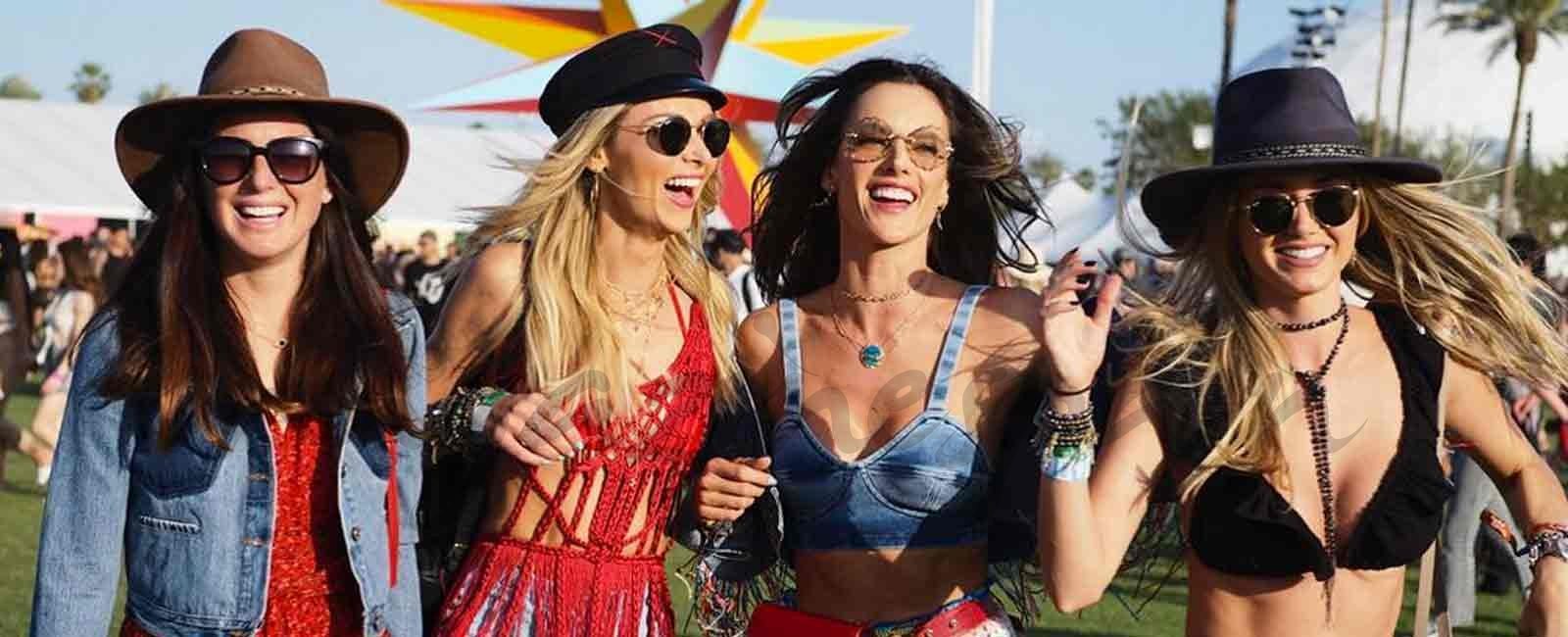 Los mejores looks street style de Coachella