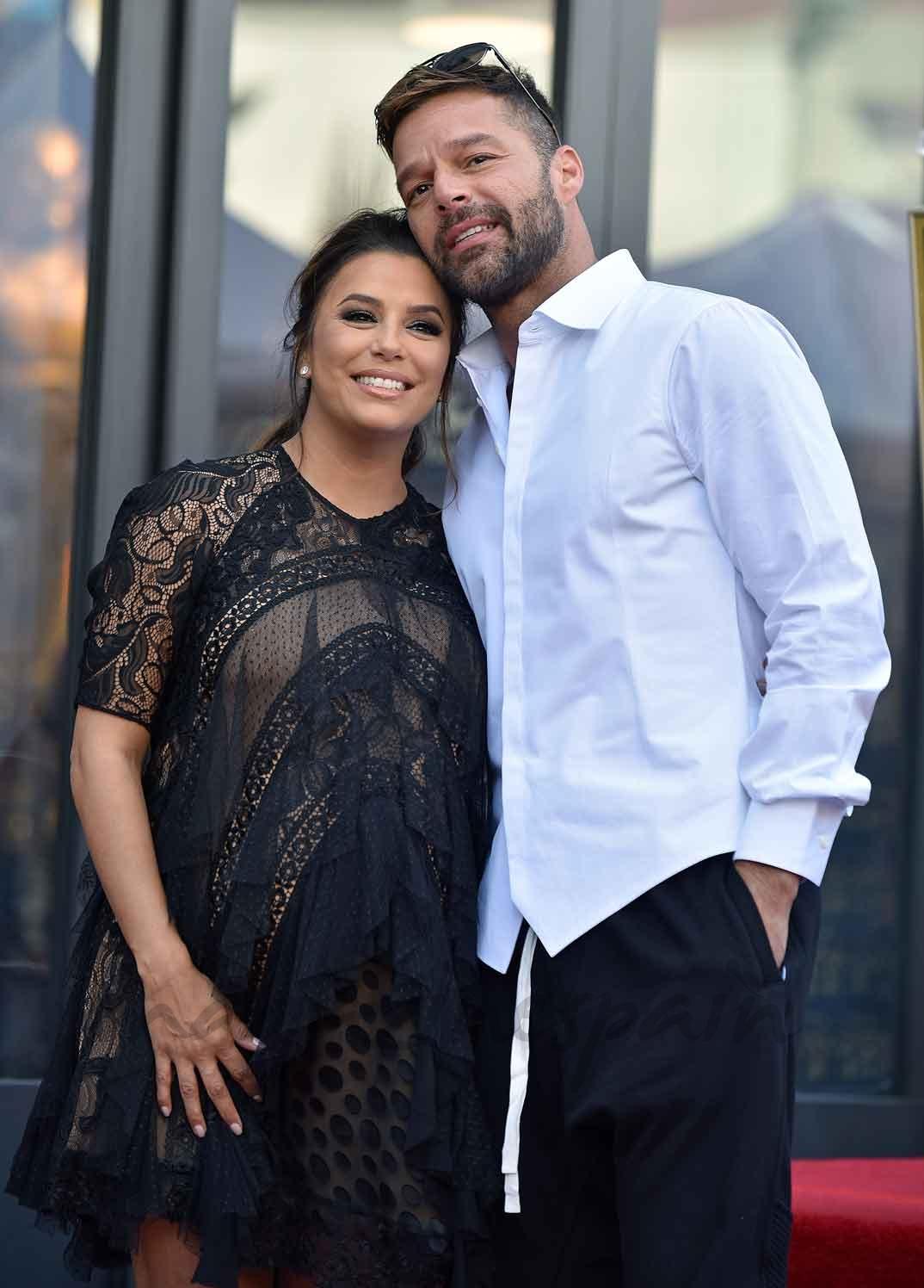 Eva Longoria y Ricky Martin