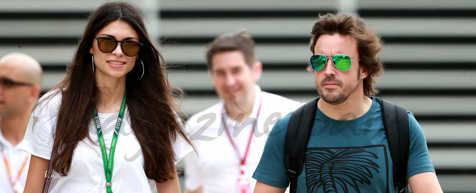 Linda Morselli, el mejor apoyo para Fernando Alonso