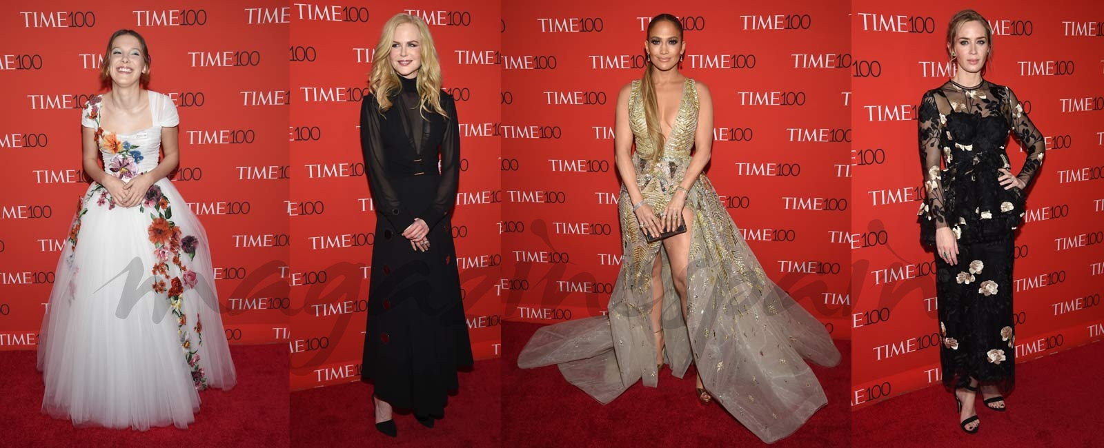 Los looks más espectaculares de la gala TIME 100