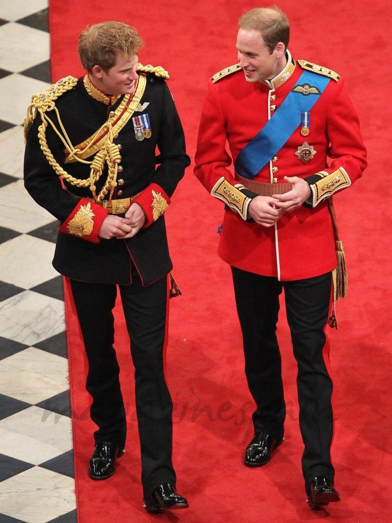 Príncipe Harry, padrino de su hermano el Príncipe Guillermo el día de su boda con Catherine Middleton - 29 abril 2011 -