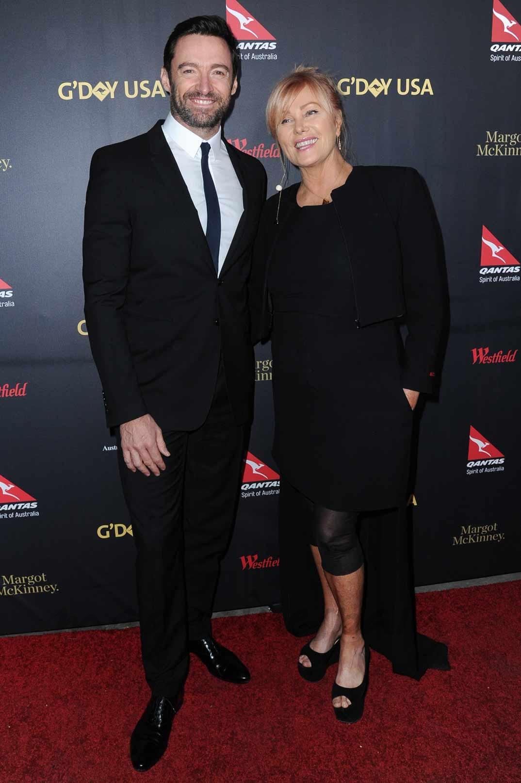 Hugh Jackman y su esposa Deborra Lee Furness