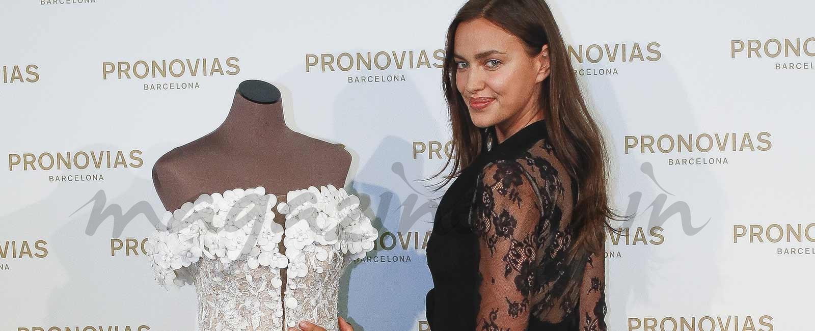 Irina Shayk, madrina de la nueva colección de Pronovias