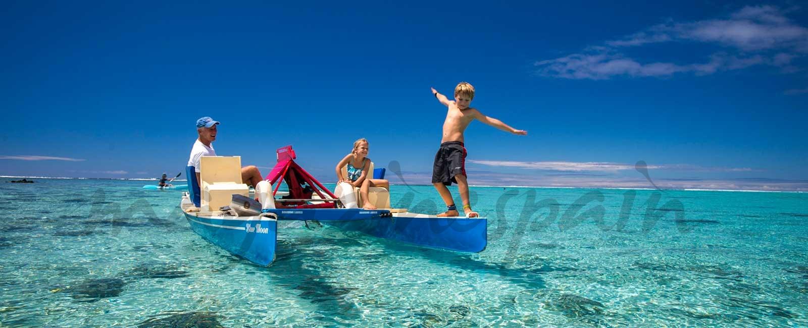 Islas Cook, un paraíso inagotable para familias