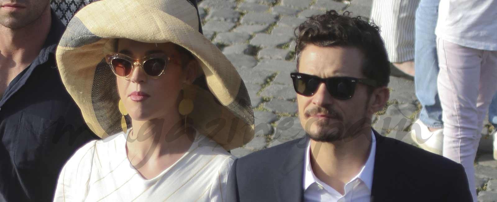 Katy Perry y Orlando Bloom confirman su relación ante el Papa Francisco