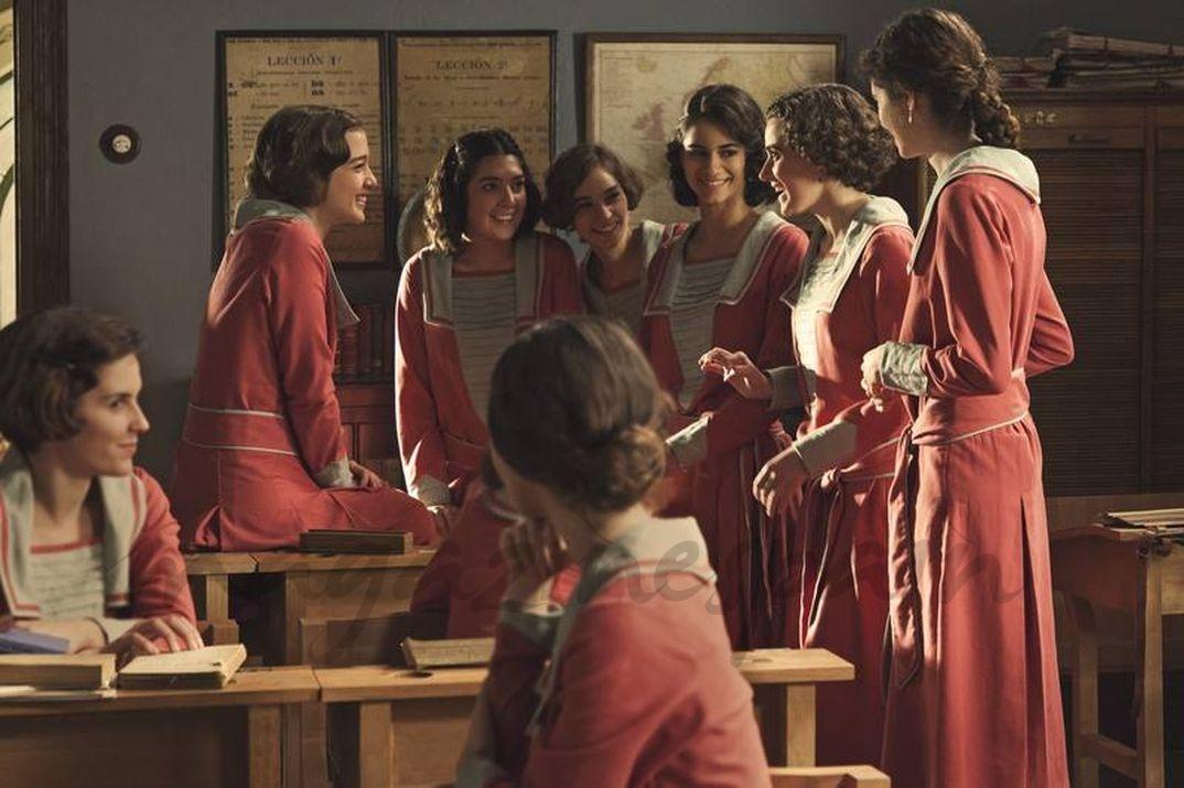 Las jovenes alumnas de 'La otra mirada' © RTVE
