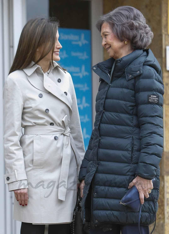 Reina Letizia, Reina Sofía