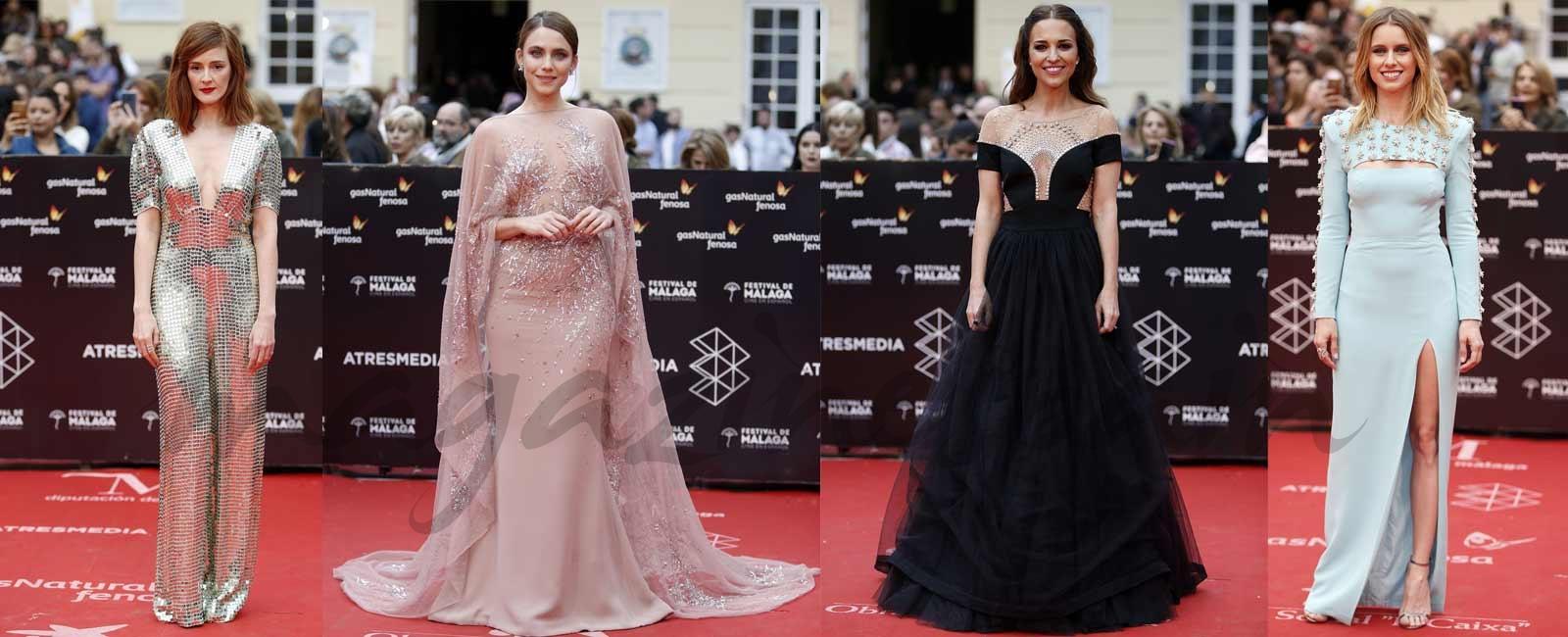 Los mejores looks de la clausura del Festival de Málaga