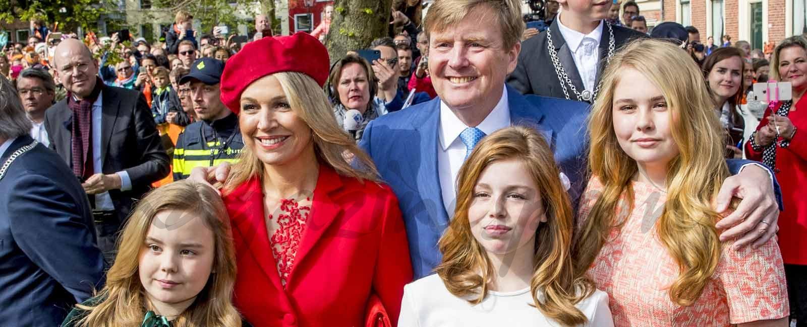 Máxima de Holanda, apuesta por el rojo