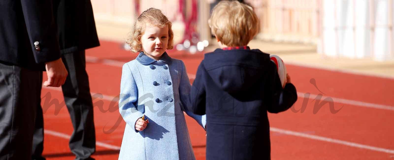 Los mellizos Gabriella y Jacques de Mónaco roban el protagonismo a sus papás