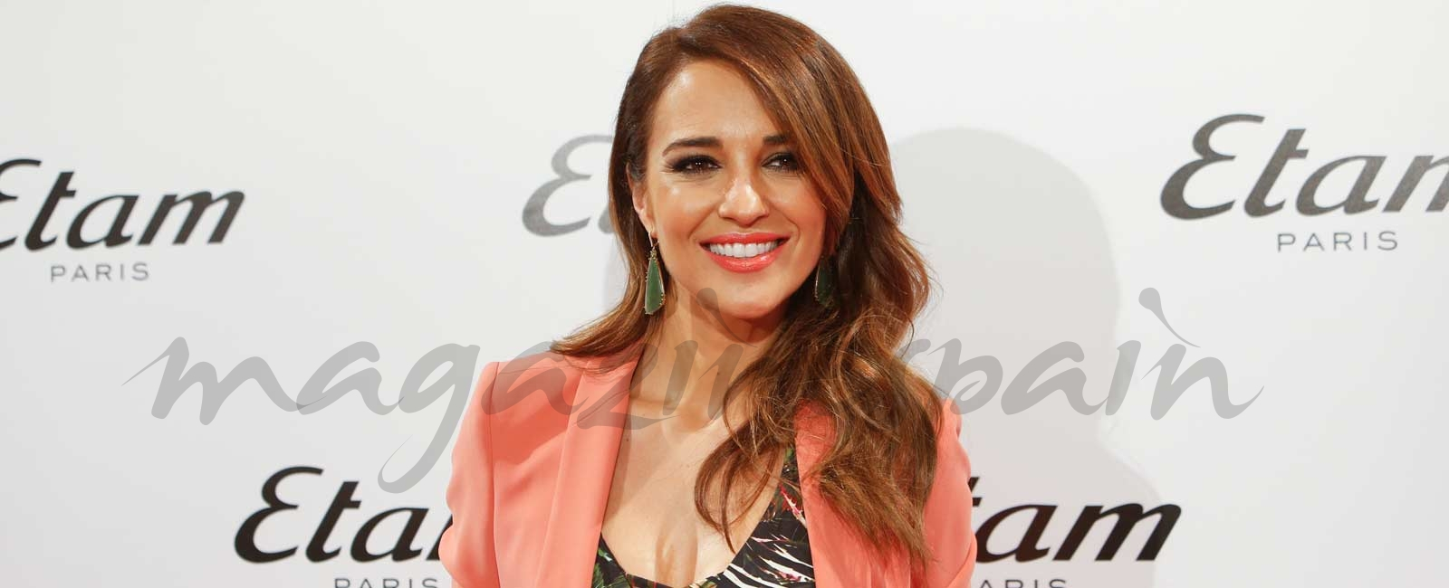 Paula Echevarría: «Tengo muchos motivos para sonreír»