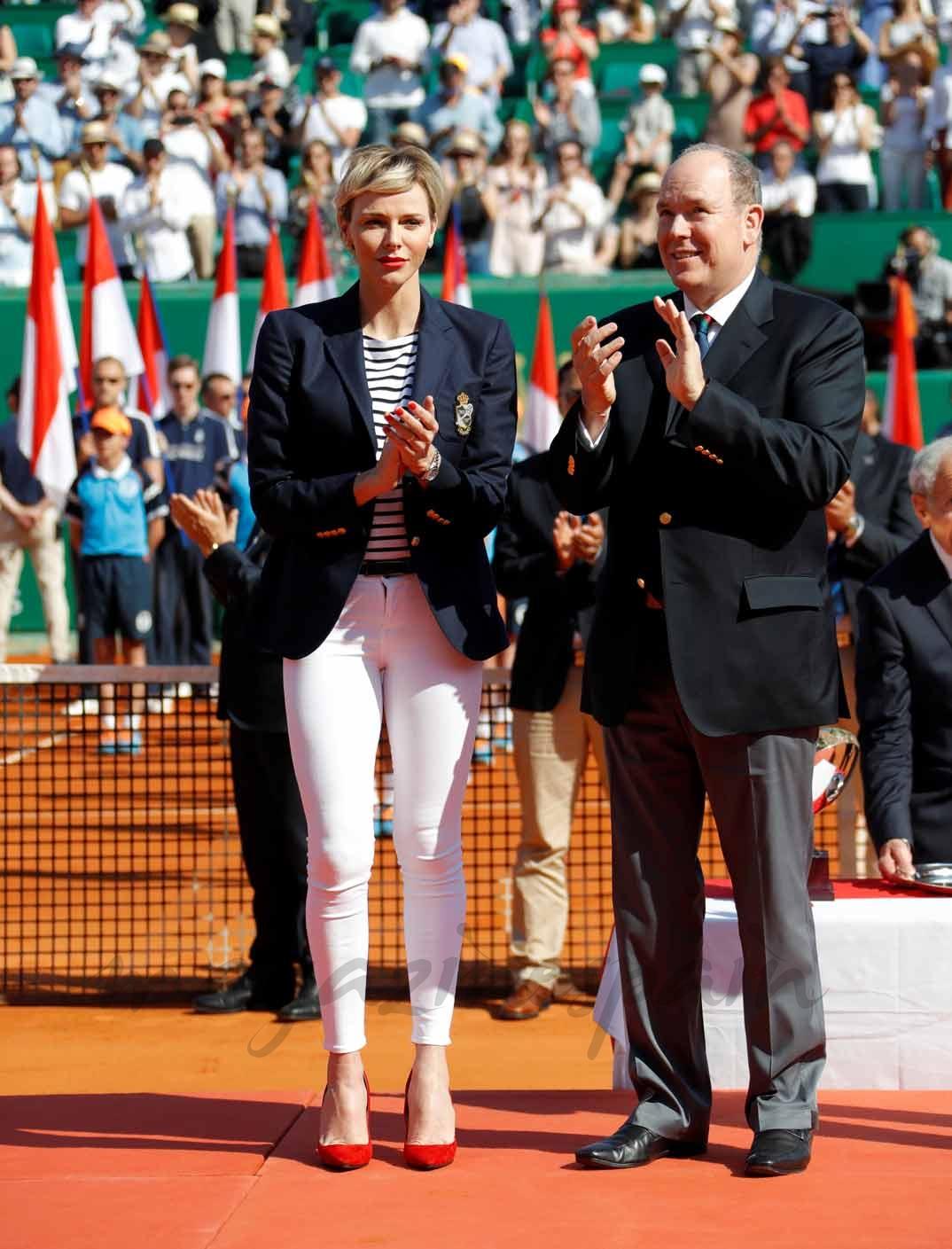 Príncipes Alberto y Charlene de Mónaco