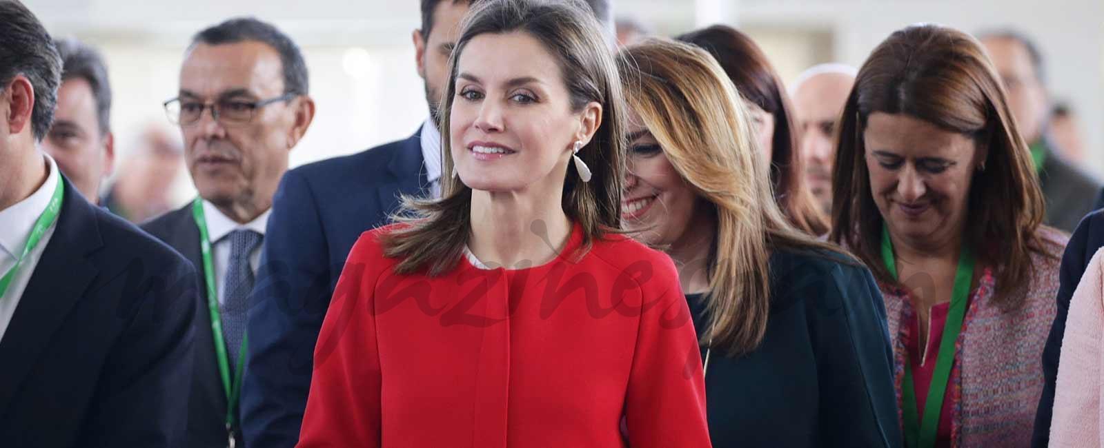 La reina Letizia visita la Universidad de Huelva