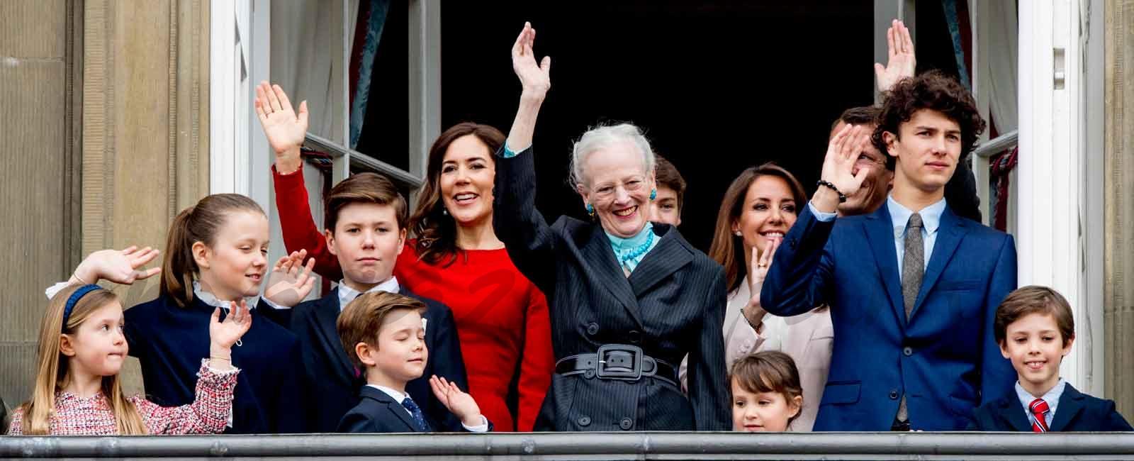 La reina Margarita de Dinamarca celebra su 78 cumpleaños