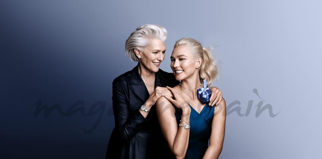 Karlie Kloss con su madre - Swarovski