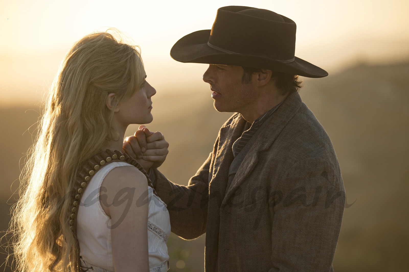 Evan Rachel Wood, James Marsden - Westworld © HBO