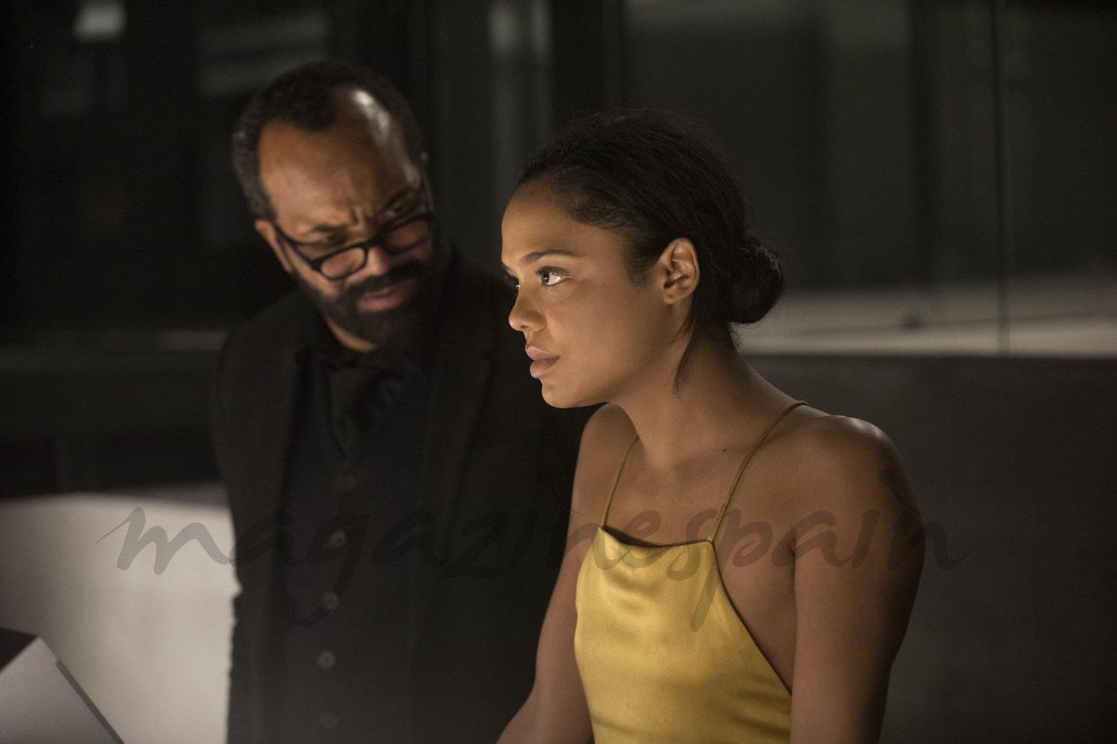 Jeffrey Wright, Tessa Thompson - Westworld © HBO